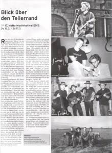 Marburger Express, Ausgabe 10/12 (Autor: Michael Arlt)