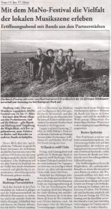 Marburger Freitagszeitung, 09.03.2012 (Autorin: Alexandra Hess)