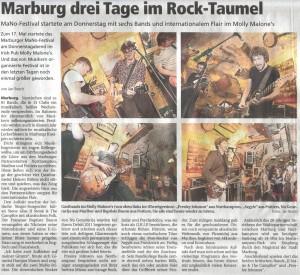 Oberhessische Presse, 17.03.2012 (Autor: Jan Bosch)