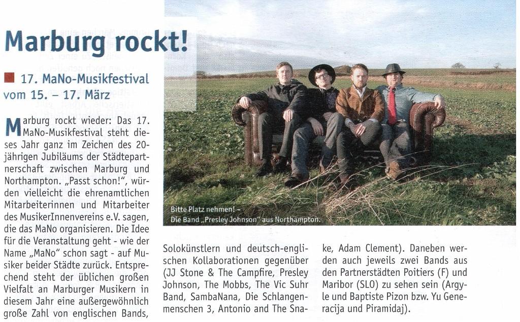 Studier Mal Marburg, Ausgabe 03/12 (Autorin: Ute Schneidewindt)