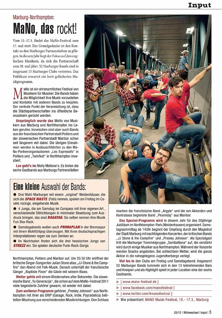 Wildwechsel, Ausgabe 03/12 (Autorin: Victoria Stauß)