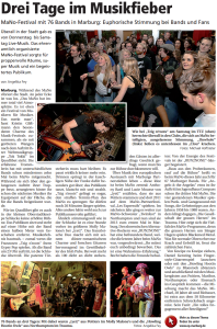 Oberhessische Presse, 12.03.2013 (Autorin: Angelika Fey)