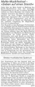 Gießener Allgemeine Zeitung, 11.03.2014