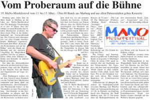 Mittelhessische Anzeigen Zeitung, 12.03.2014 (Autor: Markus Becker)