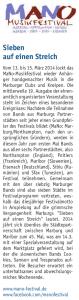 Studier Mal Marburg, 03/2014 (Autor: Jan Thiede)