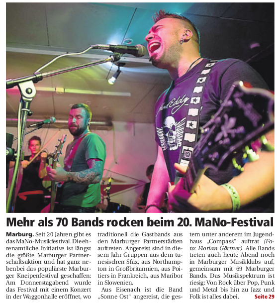 Pressespiegel   MaNo   Musikfestival