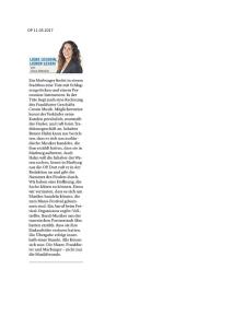 Oberhessische Presse (11.03.2017)